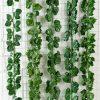12pcs / lot guirlande suspendue de plantes à feuilles de lierre artificielles